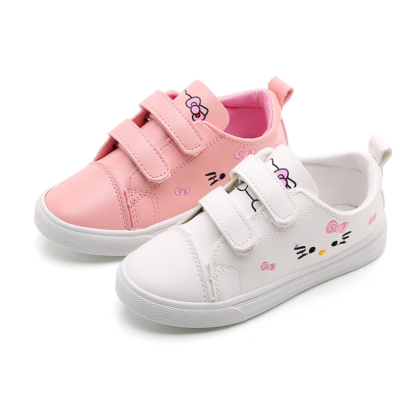 2020 Spring New Children Shoes Girls Sneakers Elsa Anna Princess Kids Shoes Fashion Casual Sport Running Leather Shoes For Girls