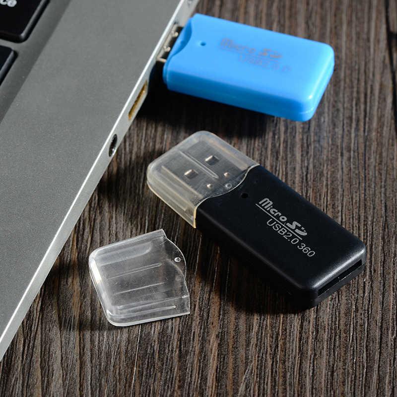 Hoge Kwaliteit Mini Usb 2.0 Card Reader Voor Micro Sd Tf Card Adapter Plug En Play Kleurrijke Kiezen Uit voor Tablet Pc TXTB1
