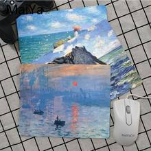 Maiya Top Quality Claude Monet Art DIY Design Pattern Game mousepad Top Selling Wholesale Gaming Pad mouse(China)