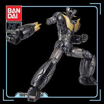 BANDAI HG 1/144 Black Mazinger Z Gundam Theatrical Edition INFINITY Armored Mannequin Action Figure Kids Toy Gift 1