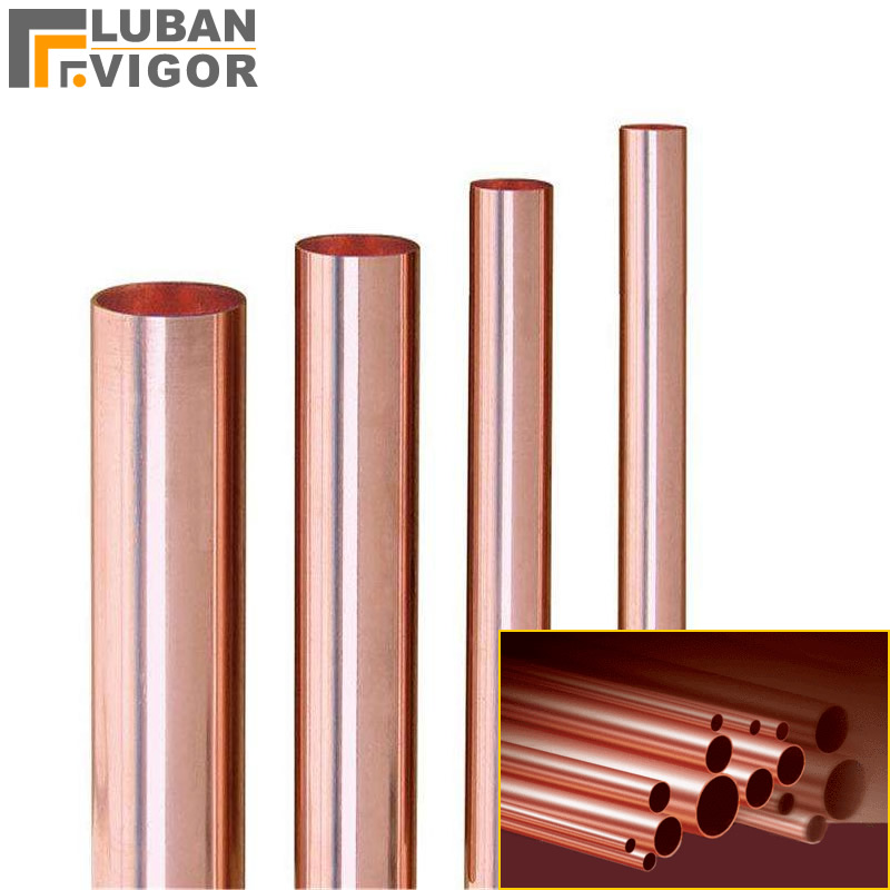 Customized Link , T2 Copper Tube / Pipe ,pure Copper Hard Straight Tube ,custom Cut,42mm * 1.5mm * 200mm X 3pcs