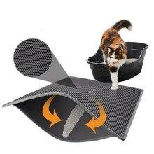 À prova dwaterproof água pet gato maca esteira dupla camada antiderrapante inferior dobrável almofada de gato armadilha para gatos pet limpeza acessórios