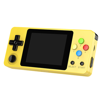 Ldk 2.6 Inch Game Console Open Source System Mini Handheld Build-In 3000 Games Retro Game Mini Family Tv Video Console Yellow