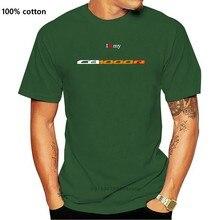 Camiseta Personalizado Cb1000r S, M, L, Xl, Xxl Hombre Cuello Redondo Moto Cb 1000 R tendencia divertida Camiseta de algodón Tallas grandes