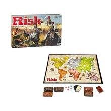Jogo de tabuleiro de risco estratégico jogos de mesa de guerra risico/risco 2-6 jogadores 30min inglês edição família jogo de festa crianças jogos divertidos