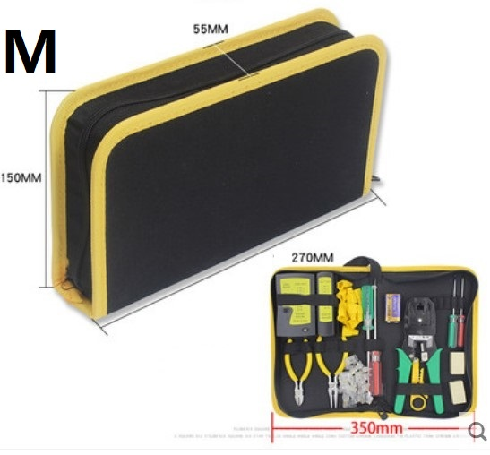 CAMMITEVER Gele randen Gereedschapstas Elektricien Canvas Reparatie - Gereedschap opslag - Foto 6
