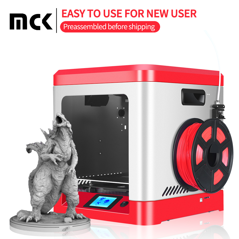 MCK M-2000 <font><b>3D</b></font> Printer New design Full metal model Preassembled before shipping 210*210*210MM large size impresora <font><b>3d</b></font> image