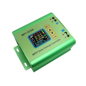 MPT-7210A Color LCD Display MPPT Solar Panel Charge Controller 24/36/48/60/72V Boost Solar Battery Controllers(China)