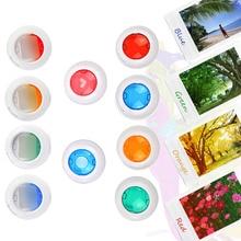 SUNNYLIFE 10PCS Colorful Close Up Lens Filter Set for Fujifilm Instax Mini 8 8+ 9 7s kt Instant Film Polaroid Camera Accessories