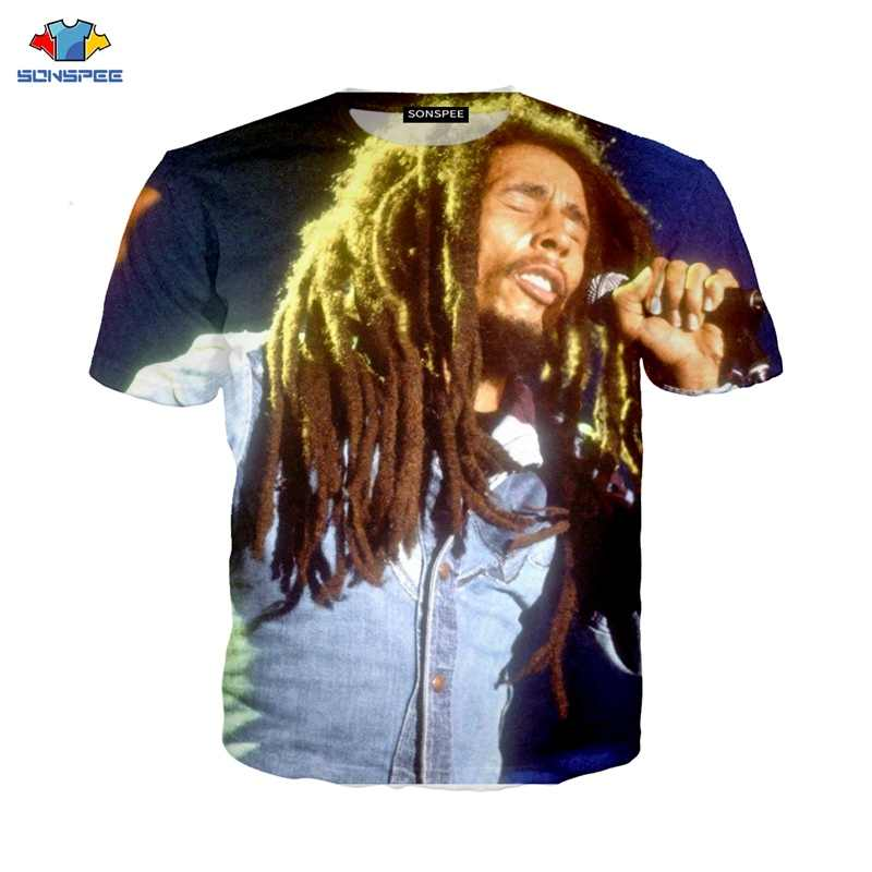 Super Rock Zanger Bob Marley Running Shirt Mannen T-shirt Bob Marley Kinderen T-shirt Compressie Shirt Gym Fitness Sweatshirt