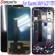 TFT For Xiaomi Mi 9 LCD Mi9 Display Xiaomi Mi9 LCD Display Touch Screen Digitizer Assembly +free tools free shipping 5 inch display touch lms500hf06 tft lcd digitizer display panel 120x74mm