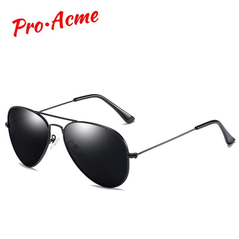 Pro acme 2020 classic pilot polarizado óculos de sol para homem mulher ultra-leve quadro de condução óculos de sol uv400 proteção pc1167
