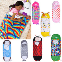 Baby Sleeping Bag Children Cartoon Lazy One-piece Pajamas Sleeping Bag Play Pillow Warm Soft Animal Sleeping Dropshipping