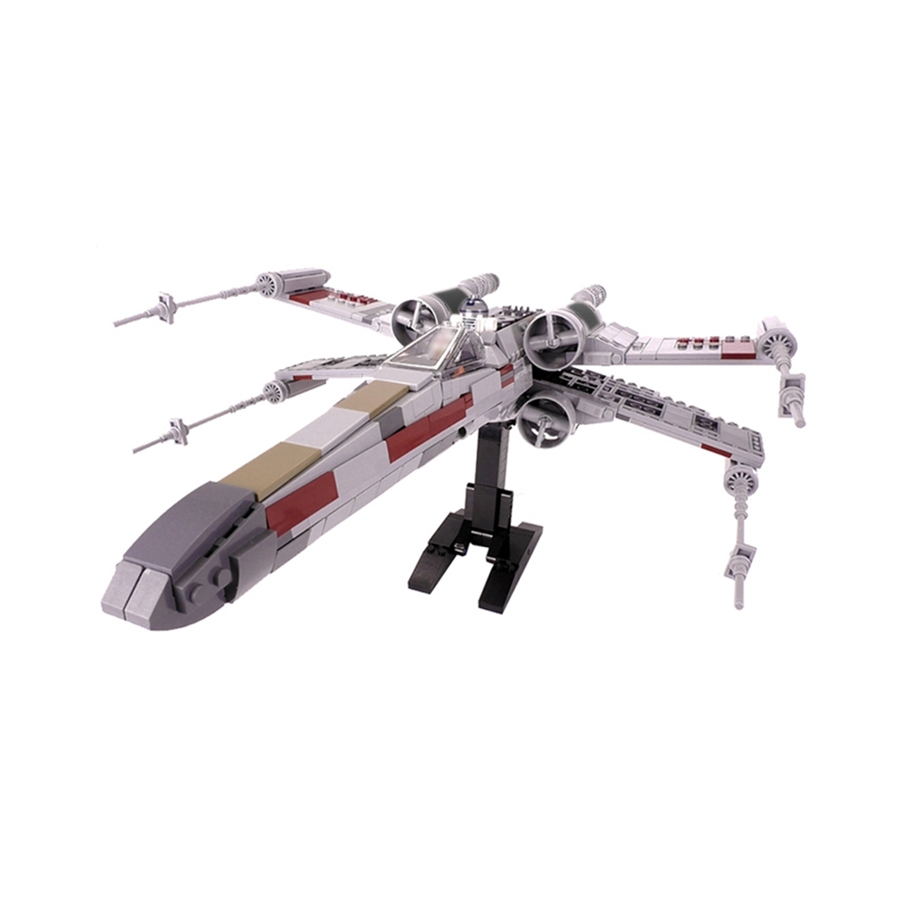 Diy MOC Mini Star Tie Fighter X Wing MicroFighters Wars AT Walker Building Blocks StarWars MOC Toys 05053 <font><b>10195</b></font> image