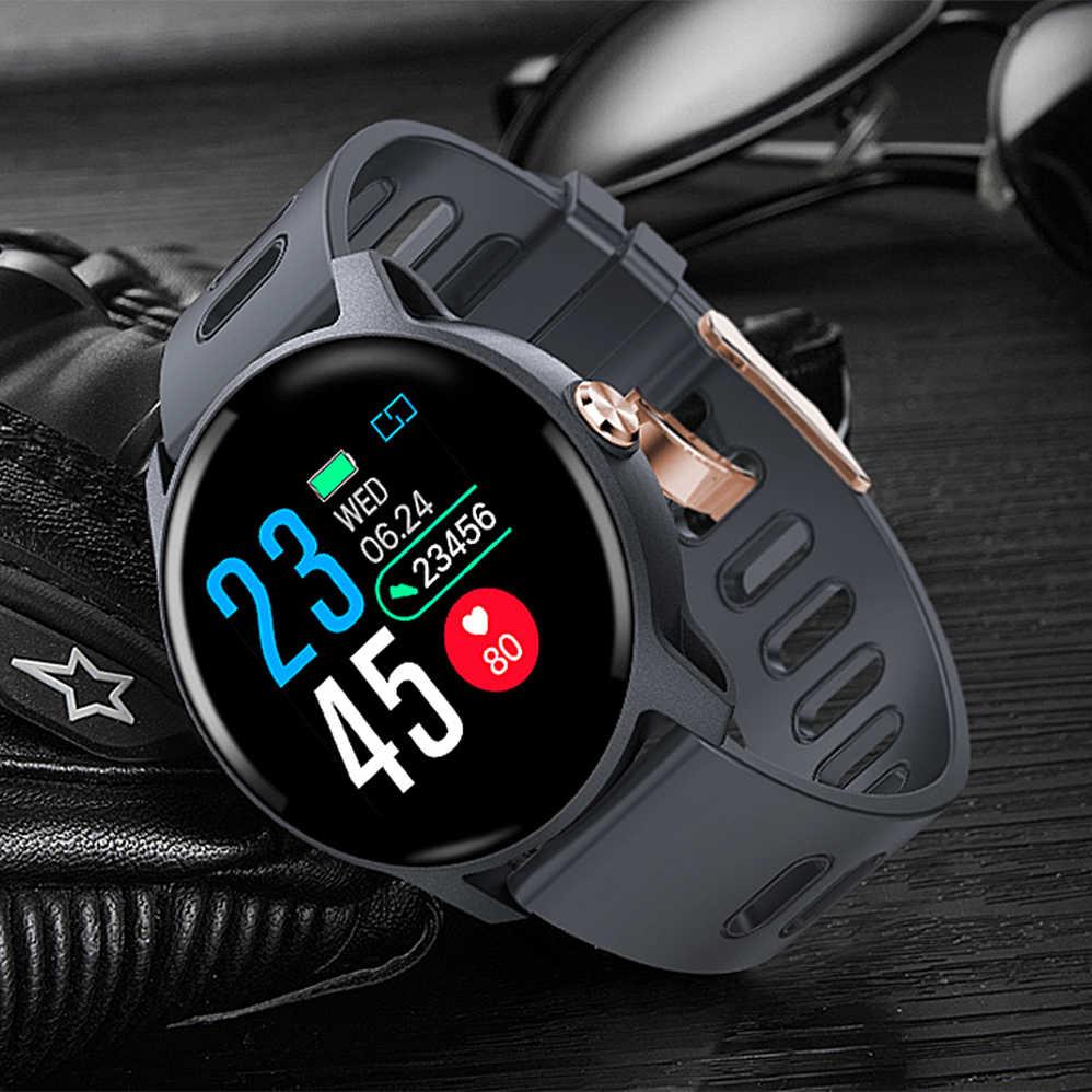 COLMI S08 גברים ספורט מד צעדים חכם שעון IP68 עמיד למים גשש כושר קצב לב צג נשים שעון Smartwatch
