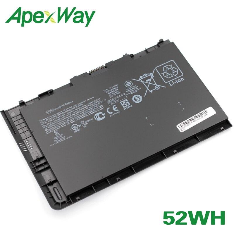 ApexWay 52Wh Laptop Battery For HP 687517-171 687517-241 687945-001 696621-001 HSTNN-DB3Z HSTNN-IB3Z HSTNN-I10C BT04 BT04XL BA06