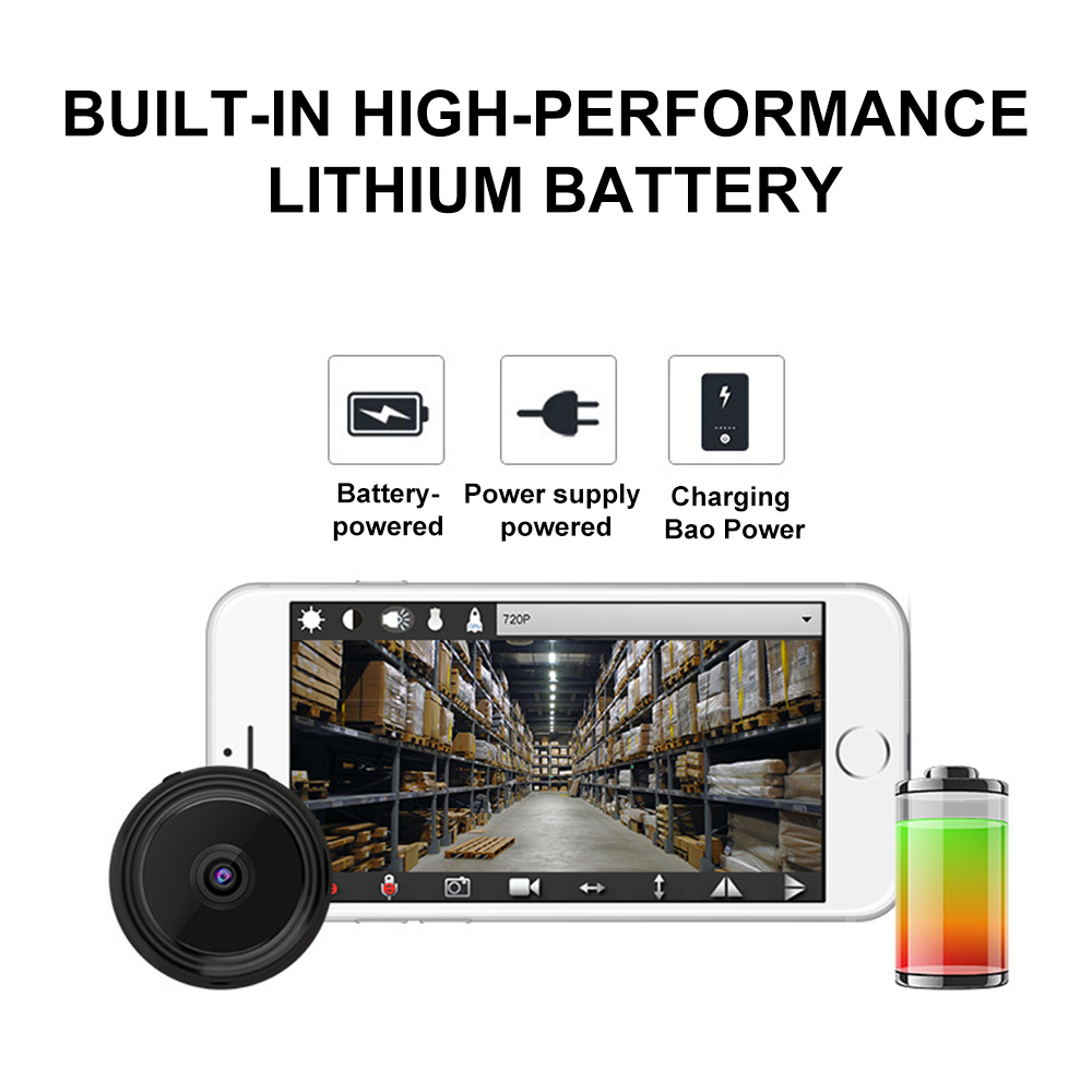 A9 Mini WiFi Camera 1080P Full HD Night Vision 6