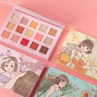 IMAGIC 15 Colors Charming Eyeshadow Palette Matte Shimmer Glitter Matte Paleta De Maquiagem Collection