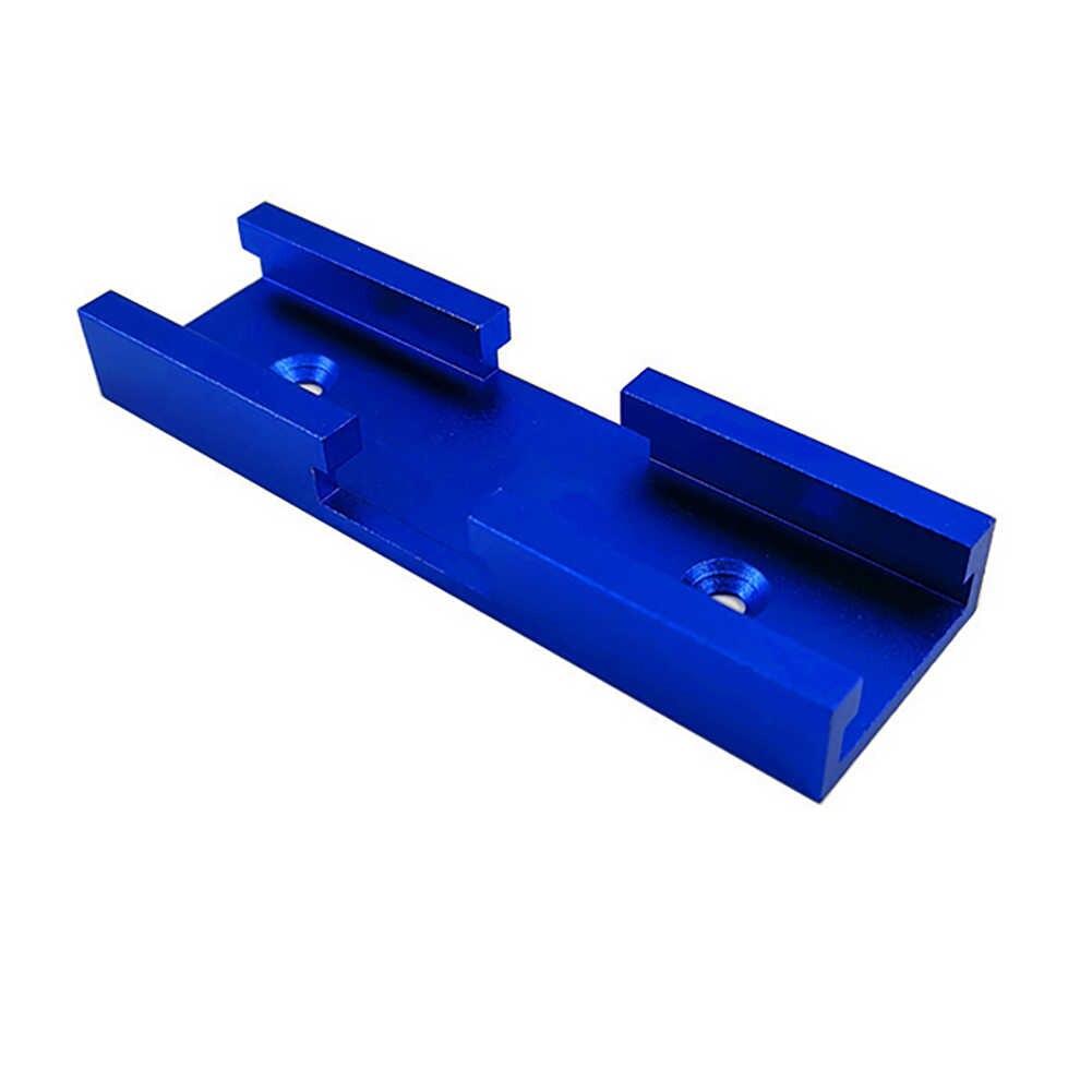 Narzędzie do drewna utwór Jig skrzyżowanie Chute 30 typ t-track aluminium Slot Miter dla elektryczna piła tarczowa Flip Table Hand Tool