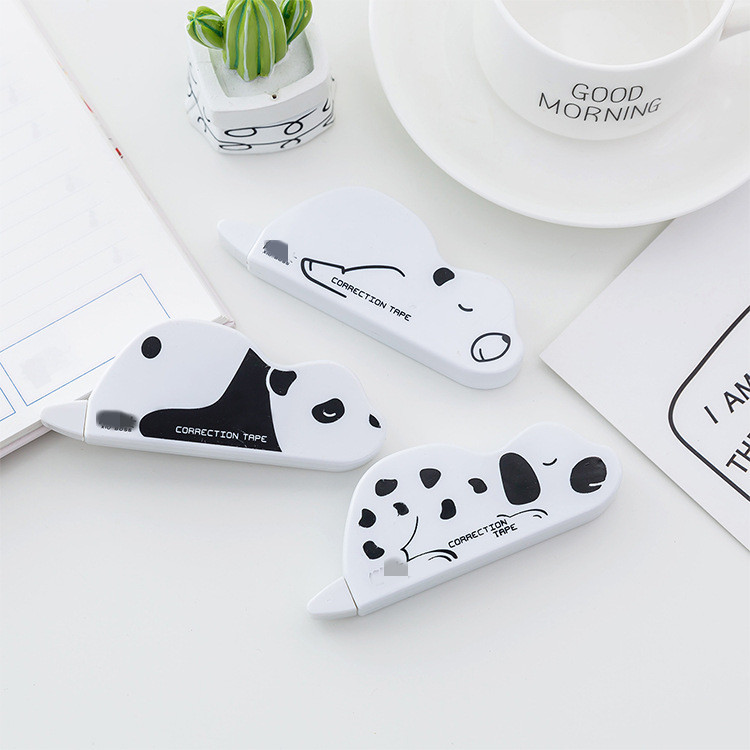 1 PC Kawaii Creative Animal Model Correction Tape Cute Gift For Students Office School Supply