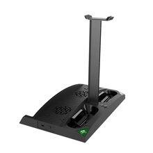 IPEGA Spiel Vertikale Stand 6 in 1 Lüfter Kopfhörer Halter Lade Basis Ersatz für XBOX ONE/XBOX ONE X/XBOX ONE S