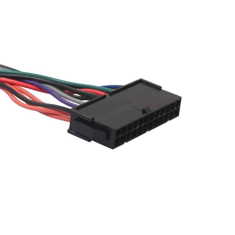 Przewód zasilający przewód 18AWG ATX 24pin do 14pin kabel adaptera do Lenovo IBM HA1