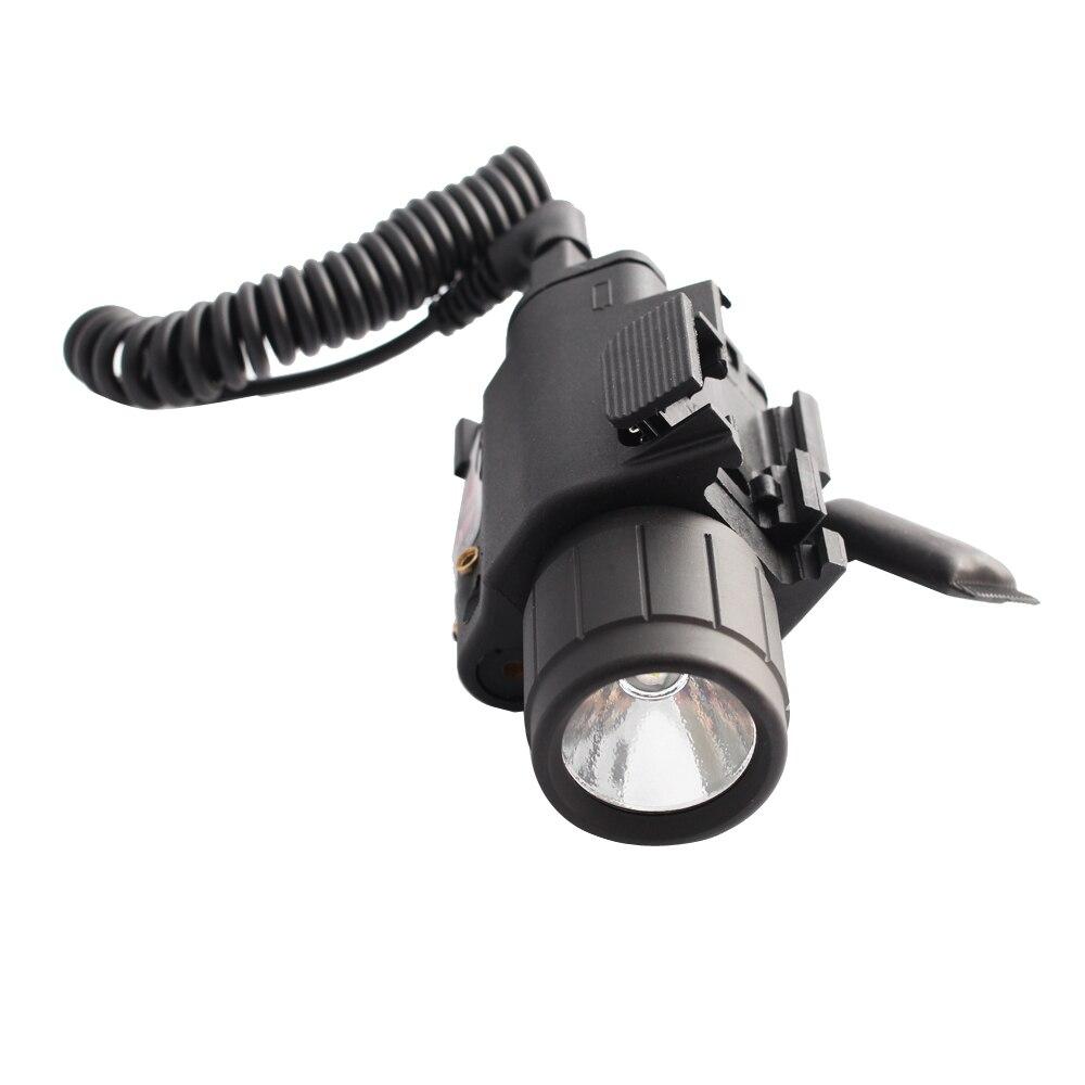 Visão laser vermelho lanterna led com 20mm