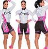 2019 pro equipe triathlon terno feminino camisa de ciclismo skinsuit macacão maillot ciclismo ropa ciclismo conjunto manga longa almofada gel 013 9