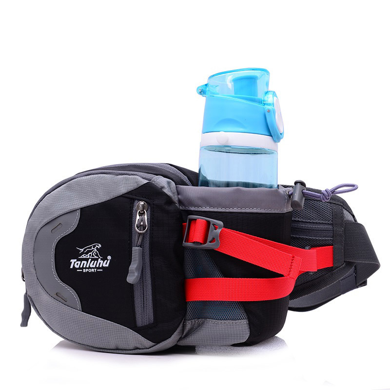 Outdoor Sports Bottle Waist Pack Men's Chest Pack Multi-functional Mountain Climbing Mobile Phone Bag Women's Running Casual Wal