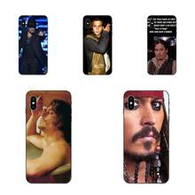 Pour Huawei Mate 9 10 20 P8 P9 P10 P20 P30 Lite Mini Play Pro P smart Plus Z 2017 2019 mode douce la vie est une blague Johnny Depp(China)