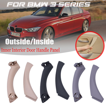 Fit For BMW 3 series E90 323i 325d E91 318i ABS Inner Interior Door Panel Handle Sedan Pull Trim Cover Inside part 51419150337 image