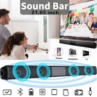 Top level Home Theater Wireless Soundbar Stereo Out Bluetooth Speaker Subwoofer for TV Computer Phone and Other Wireless Device