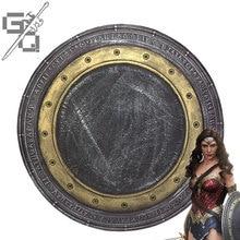 Wonder Woman Мстители COS Реквизит PU Материал Хэллоуин Взрослый Ребенок ролевой щит Косплей щит оружие
