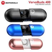 Motorola Wireless VerveBuds 400 Headset IPX6 Waterproof Bluetooth 5.0 Earphones Earbuds