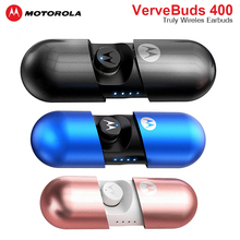 モトローラワイヤレス VerveBuds 400 ヘッドセット IPX6 防水の Bluetooth 5.0 イヤホンイヤフォン分離技術 huawei 社 Xiaomi