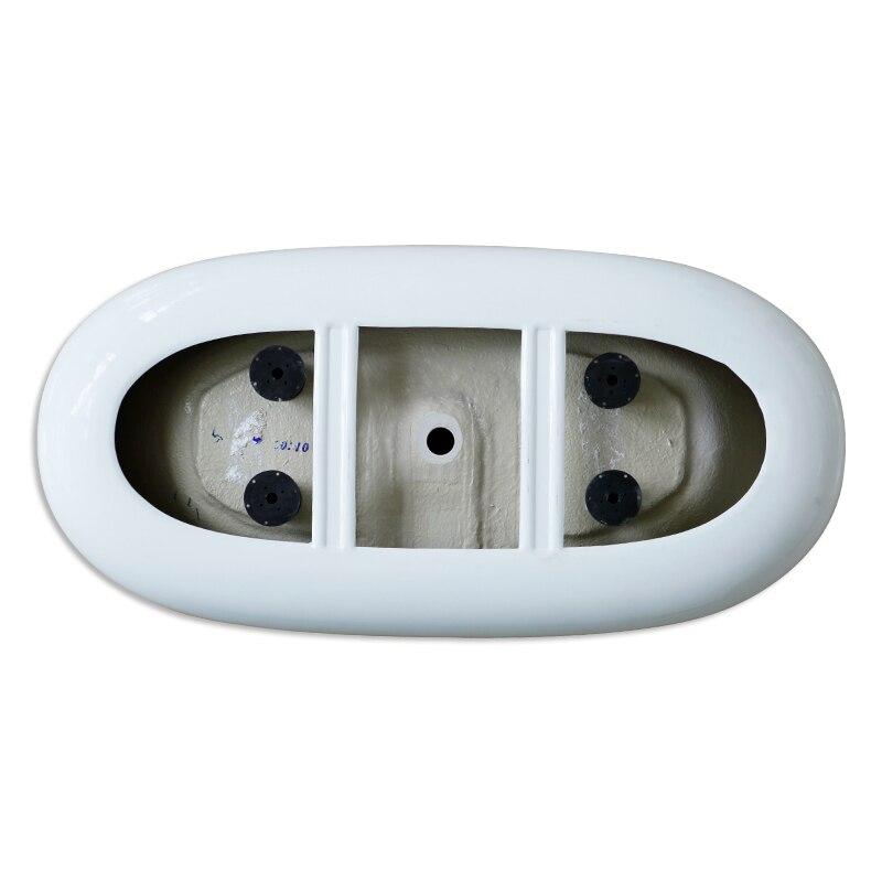Aojin acrílico banheira família banheiro europeu simples 1500mm independente grande banheira-3