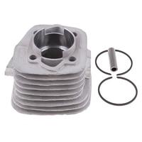 47mm Bore Engine Cylinder Head Ring Kit for 66CC 80CC Gas Motorized Bike Cylinder Head Piston Gasket Set