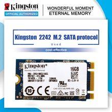 Kingston-unidad interna de estado sólido SSD 2242 M.2 SATA, Protocolo 16GB 32GB, ordenador industrial, mini dispositivo notebook