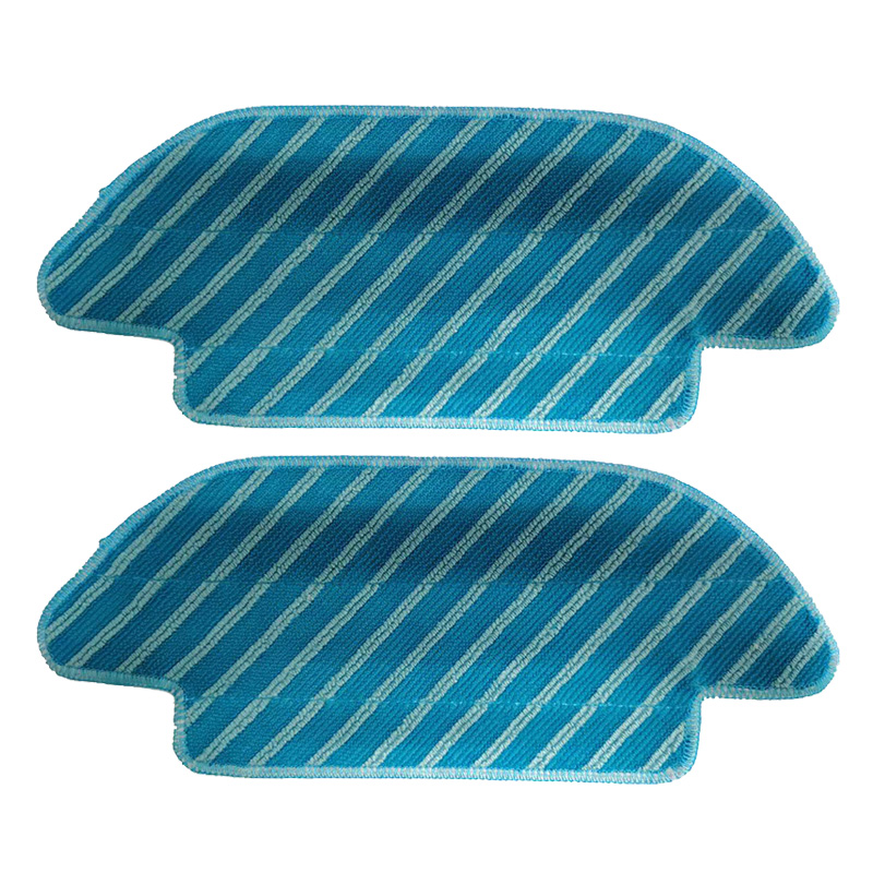 2pcs Mop Cloths For Cecotec Conga 4090 Series Vacuum Cleaner Parts Cleaning Mop Pad Accessories Rag Cloth