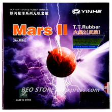 цена YINHE Mars II / MARS 2 Pips-in YINHE Table Tennis Rubber Original GALAXY Ping Pong Sponge онлайн в 2017 году