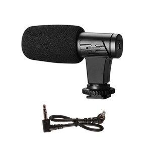 Image 2 - 3.5mm microfone microfone para dji osmo bolso/bolso 2 adaptador de áudio conector telefone montar titular desktop tripé para vlogging ao vivo