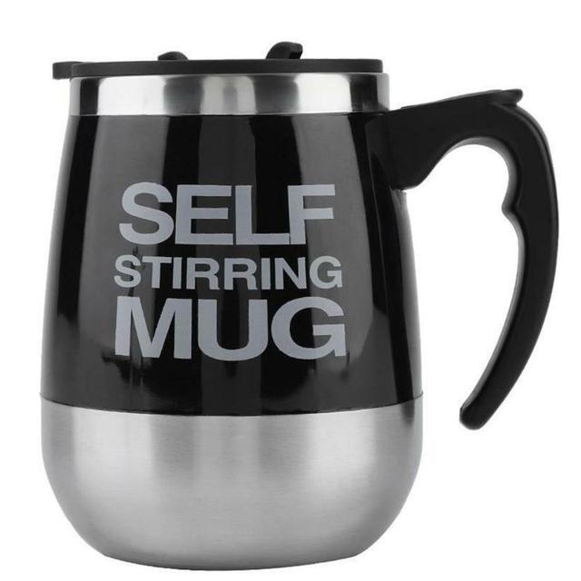 Tasse à mélange de lait magnétique   Automatique, tasse à mélange de lait magnétique, café tasses de mélange de lait, Double isolation, tasse à Shaker intelligente électrique