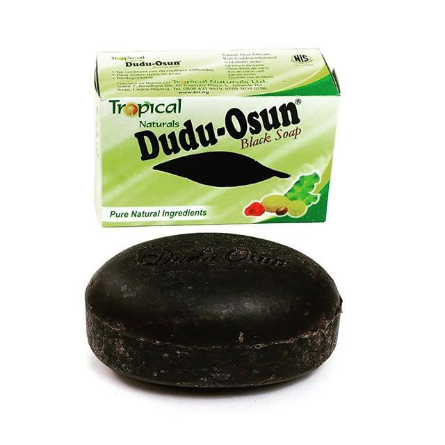 150g Tropical Dudu Osun African Natural Black Soap with Natural Ingredient African Soap Shea moisture Noir Honey Cocoa Aloe 3