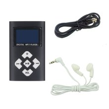 Portable MP3 Music Player With 1.1 Lcd Screen Mini Clip TF Card Slot USB MP3 Players + Earphone Music Player