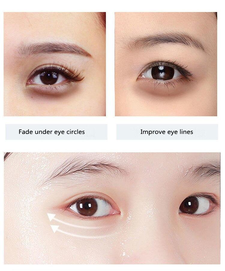 60pcs/box Collagen Moisturizing Eye Golden Mask Green Seaweed  Anti-aging Eye Skin Remove Dark Circles Face Care Mask TSLM1-4