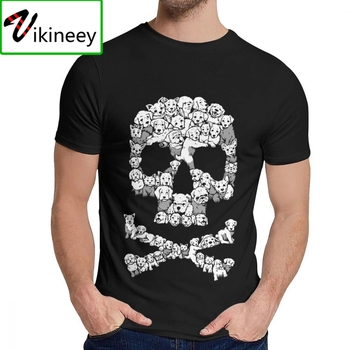 Crewneck Pawsitively Bitchin Dog Skull Humorous T-shirt Casual For Man 100% Cotton Top Tee Hot Sale image