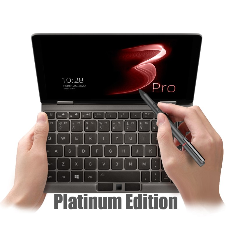 One Netbook One Mix 3 Pro Platinum Intel Core I7-10510Y 8.4 Inch IPS Screen 16GB RAM 512G PCIE SSD Win10 Yoga Pocket Mini Laptop