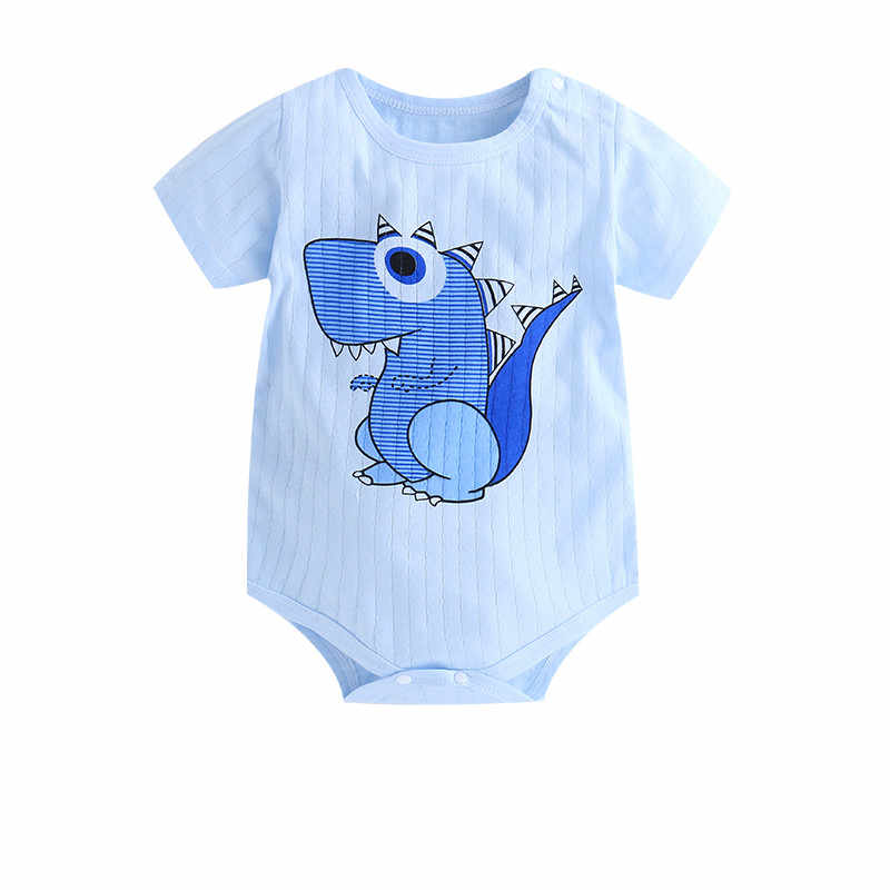 Newborn Toddler Baby Boys Girls Rompers Funny Letter Cartoon Jumpsuit for Infant Boys Girls Short Sleeve Clothing  Baby Onesiee