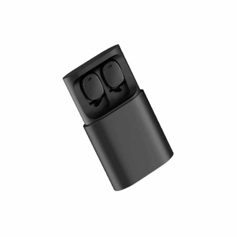 QCY T1 Pro TWS słuchawki Bluetooth bulit-in Mic słuchawki bezprzewodowe sterowanie dotykowe słuchawka sportowa z 750mAh etui z funkcją ładowania