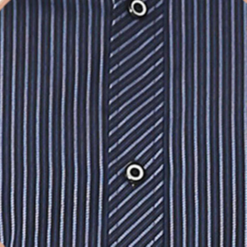 BOLUBAO ブランドのメンズ長袖シャツ新メンズスリムビジネスシャツカジュアルストライプシャツウェディングドレス男性タキシードシャツ